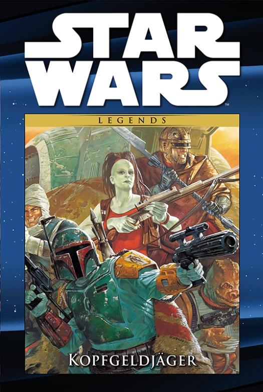star wars comic kollektion 100 kopfgeldj ager cover
